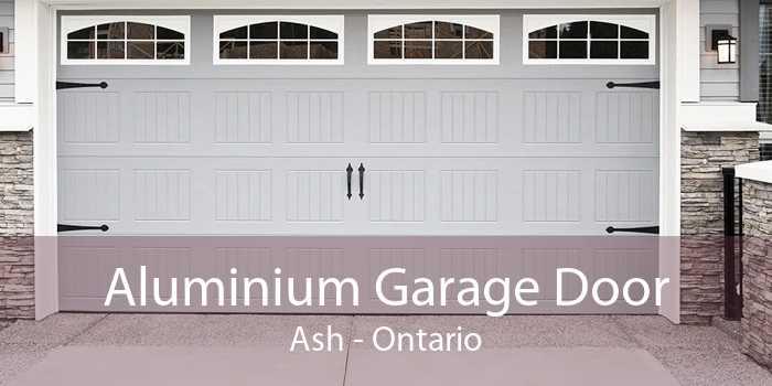 Aluminium Garage Door Ash - Ontario