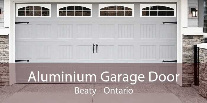 Aluminium Garage Door Beaty - Ontario