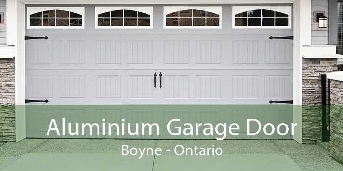 Aluminium Garage Door Boyne - Ontario