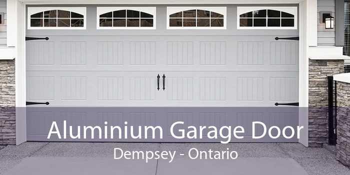 Aluminium Garage Door Dempsey - Ontario