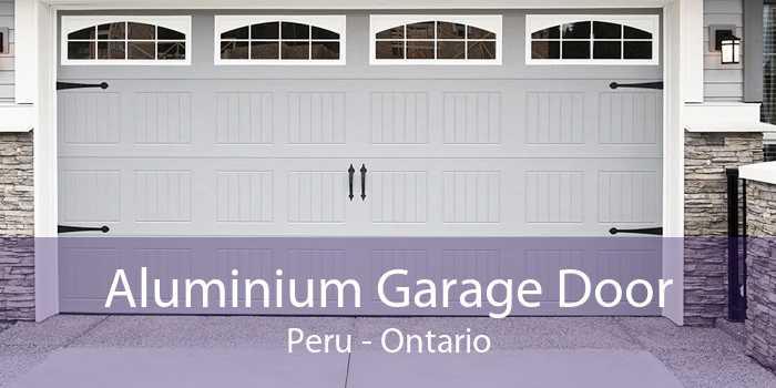 Aluminium Garage Door Peru - Ontario