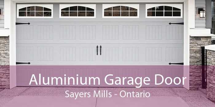 Aluminium Garage Door Sayers Mills - Ontario