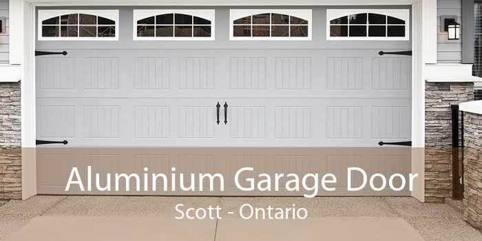 Aluminium Garage Door Scott - Ontario