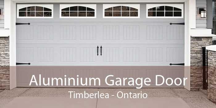 Aluminium Garage Door Timberlea - Ontario