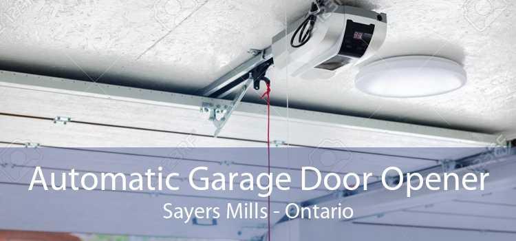 Automatic Garage Door Opener Sayers Mills - Ontario