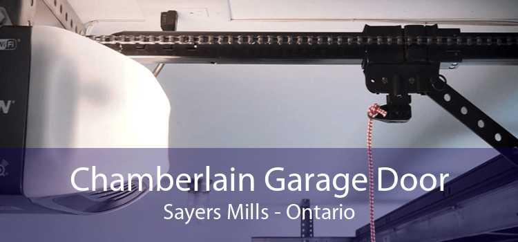 Chamberlain Garage Door Sayers Mills - Ontario