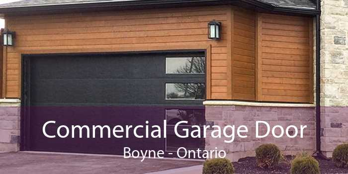 Commercial Garage Door Boyne - Ontario