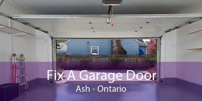 Fix A Garage Door Ash - Ontario