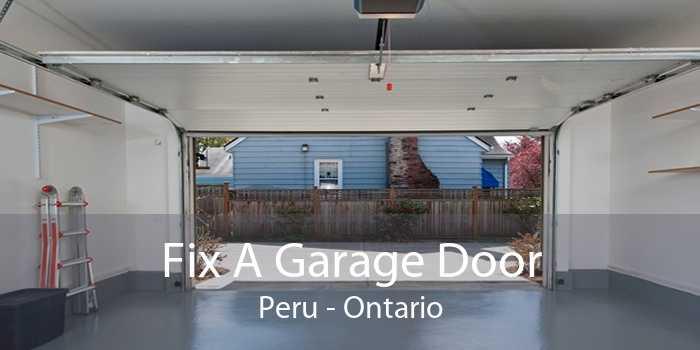 Fix A Garage Door Peru - Ontario
