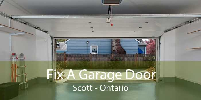 Fix A Garage Door Scott - Ontario