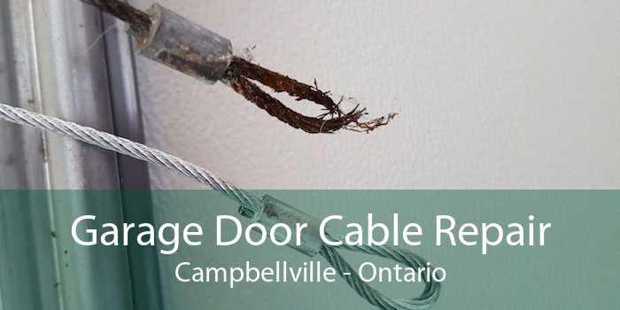 Garage Door Cable Repair Campbellville - Ontario