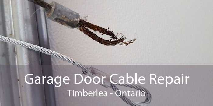 Garage Door Cable Repair Timberlea - Ontario