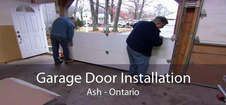 Garage Door Installation Ash - Ontario
