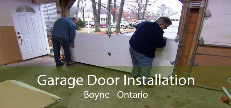 Garage Door Installation Boyne - Ontario
