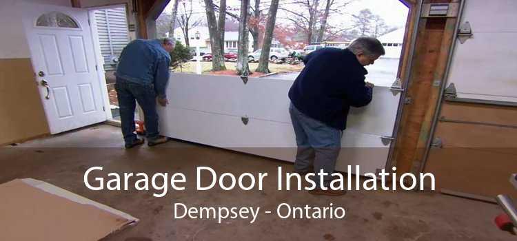 Garage Door Installation Dempsey - Ontario