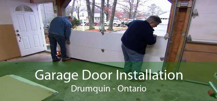 Garage Door Installation Drumquin - Ontario