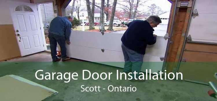 Garage Door Installation Scott - Ontario