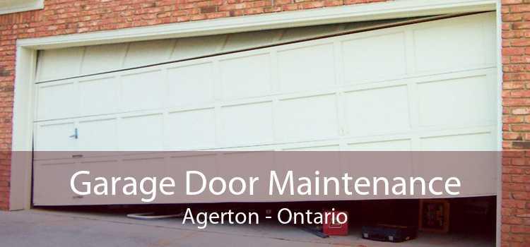 Garage Door Maintenance Agerton - Ontario
