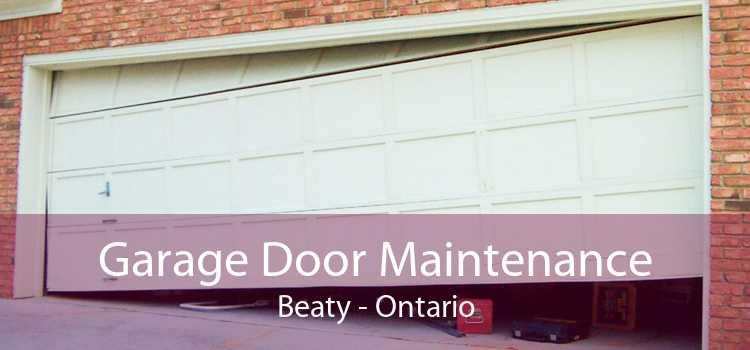 Garage Door Maintenance Beaty - Ontario