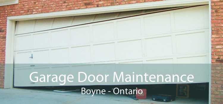 Garage Door Maintenance Boyne - Ontario