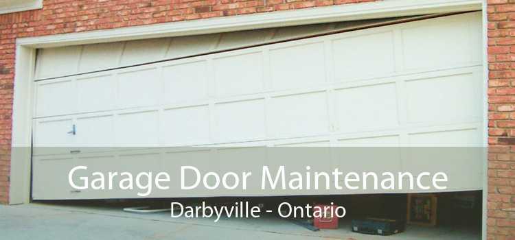 Garage Door Maintenance Darbyville - Ontario