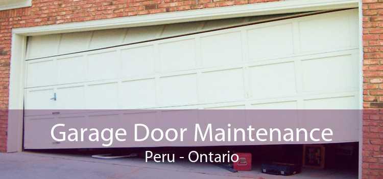Garage Door Maintenance Peru - Ontario