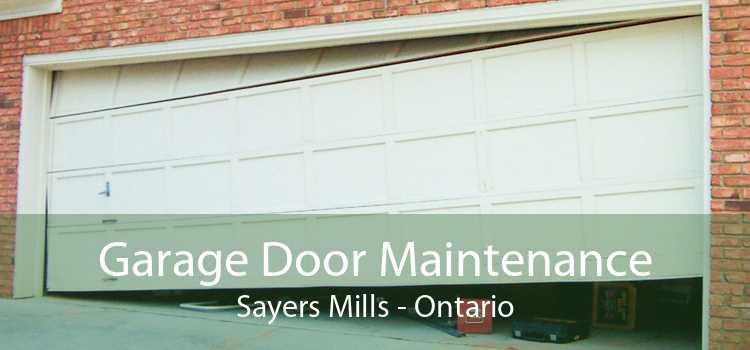 Garage Door Maintenance Sayers Mills - Ontario