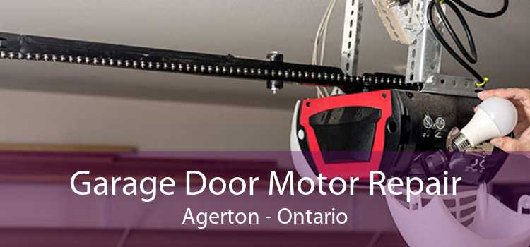 Garage Door Motor Repair Agerton - Ontario