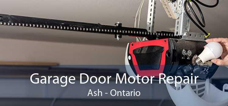 Garage Door Motor Repair Ash - Ontario