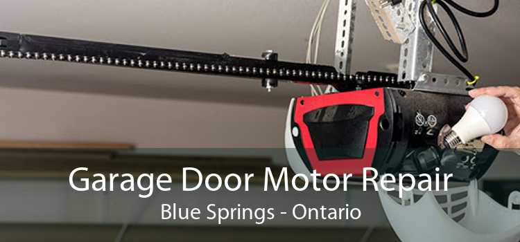Garage Door Motor Repair Blue Springs - Ontario