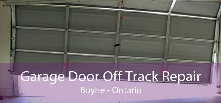 Garage Door Off Track Repair Boyne - Ontario