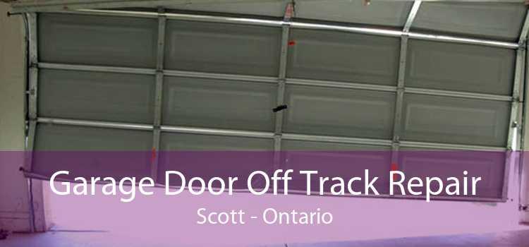 Garage Door Off Track Repair Scott - Ontario