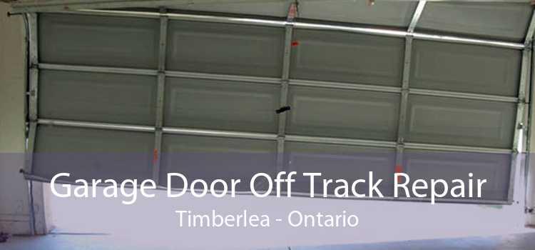 Garage Door Off Track Repair Timberlea - Ontario
