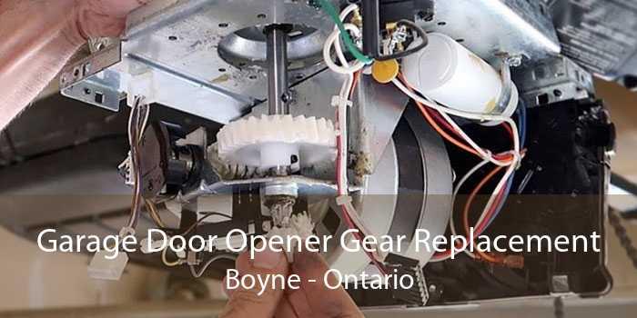 Garage Door Opener Gear Replacement Boyne - Ontario