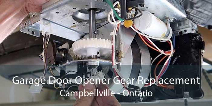 Garage Door Opener Gear Replacement Campbellville - Ontario