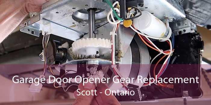 Garage Door Opener Gear Replacement Scott - Ontario
