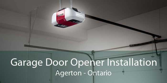 Garage Door Opener Installation Agerton - Ontario