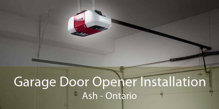 Garage Door Opener Installation Ash - Ontario