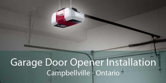Garage Door Opener Installation Campbellville - Ontario