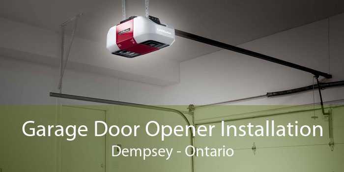 Garage Door Opener Installation Dempsey - Ontario
