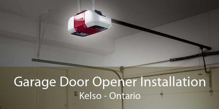 Garage Door Opener Installation Kelso - Ontario