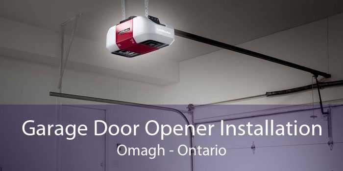 Garage Door Opener Installation Omagh - Ontario