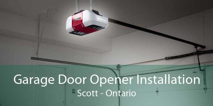 Garage Door Opener Installation Scott - Ontario