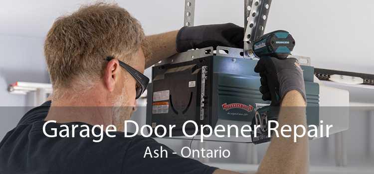 Garage Door Opener Repair Ash - Ontario