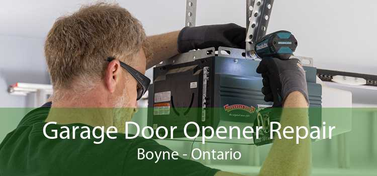 Garage Door Opener Repair Boyne - Ontario