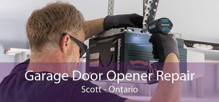Garage Door Opener Repair Scott - Ontario