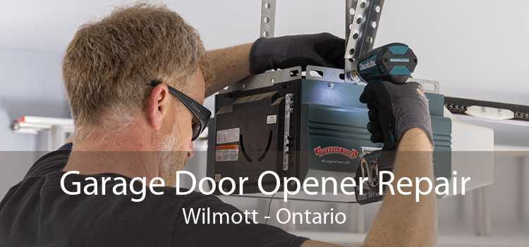 Garage Door Opener Repair Wilmott - Ontario