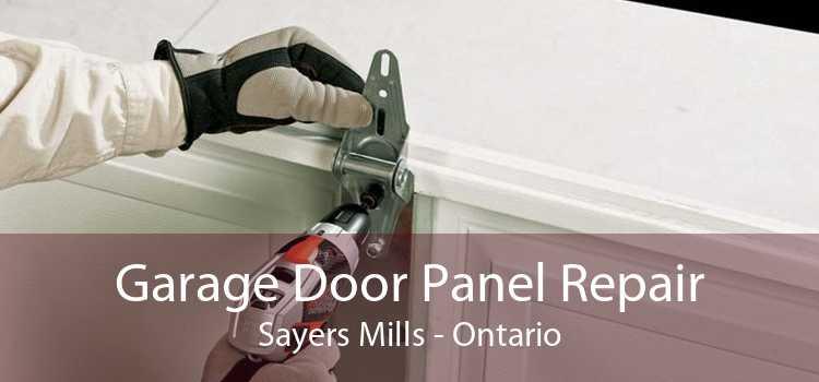 Garage Door Panel Repair Sayers Mills - Ontario