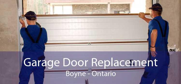 Garage Door Replacement Boyne - Ontario