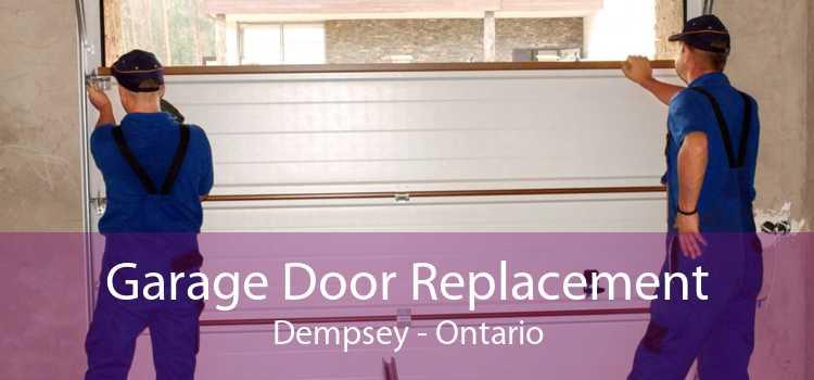 Garage Door Replacement Dempsey - Ontario